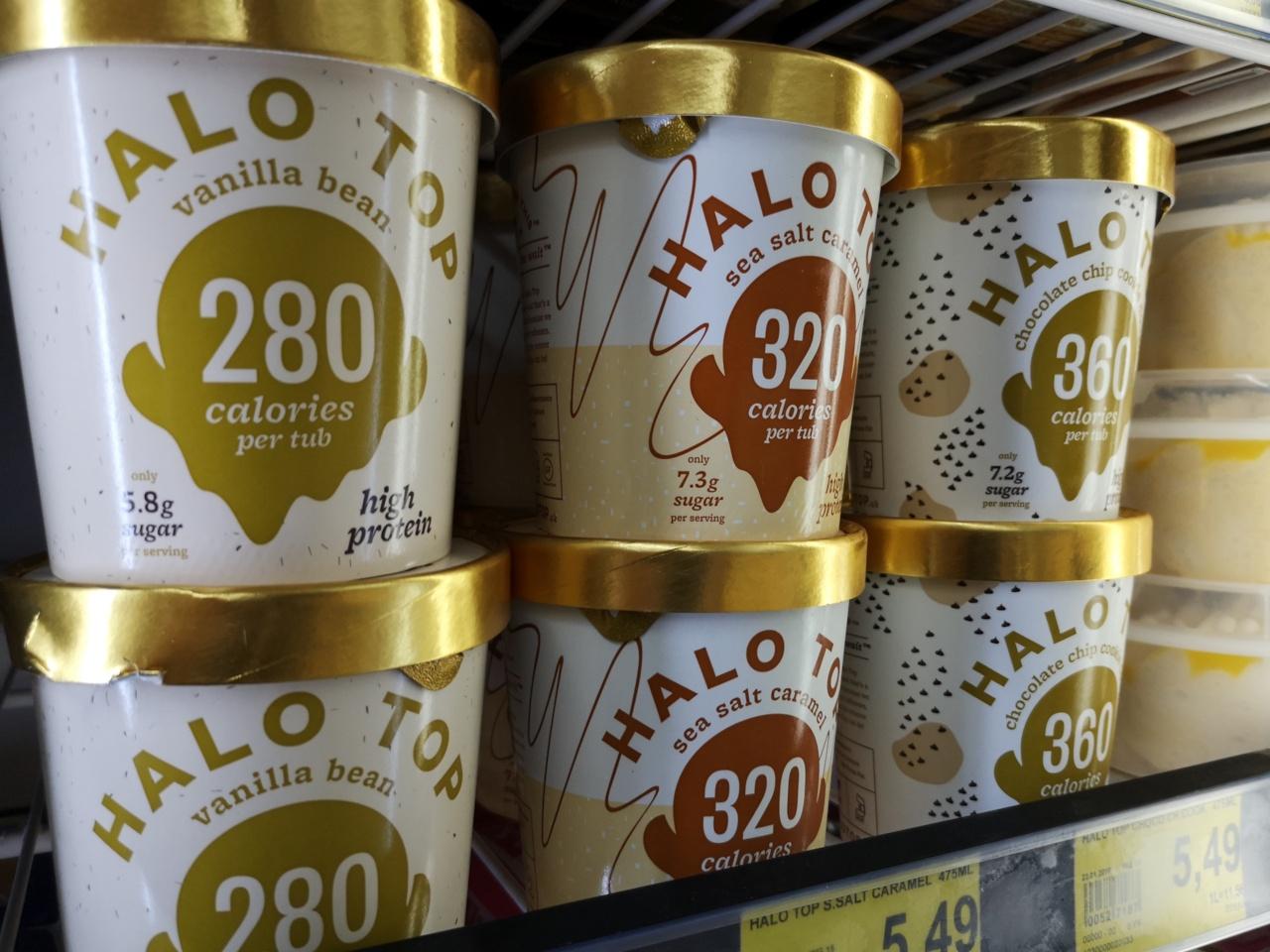 """""""HALO TOP"""" und viel Spaß im Regal… für Bäckermeister, Grillfreunde und figurbewusste Eisliebhaber."""